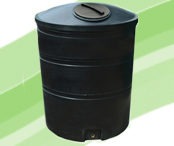 Water Tank 2100 Litres In Black